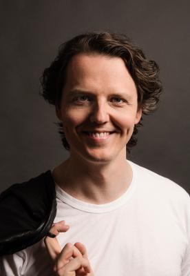 Opera singer Arttu Kataja Berlin, photographed by Markus Henttonen